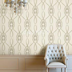 کاغذ دیواری کلاسیک طلایی