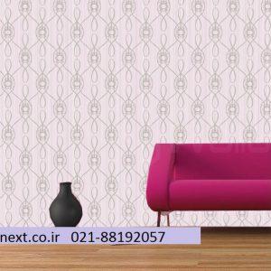 کاغذ دیواری کلاسیک یاسی رنگ