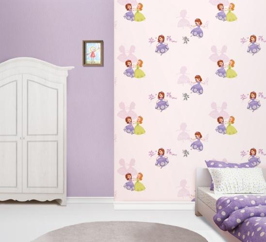 کاغذ دیواری دخترانه صوفیا