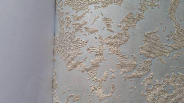 کاغذ دیواری آبی روشن برای پذیرایی مجلل