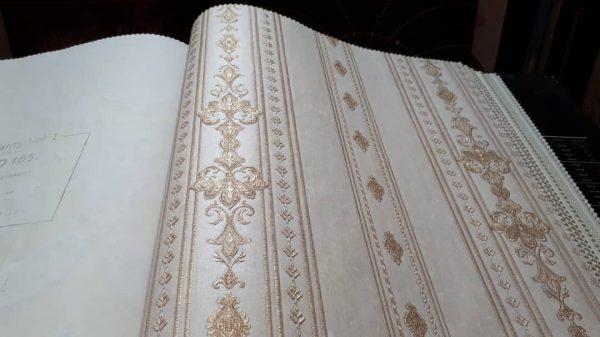 کاغذ دیواری کلاسیک برجسته