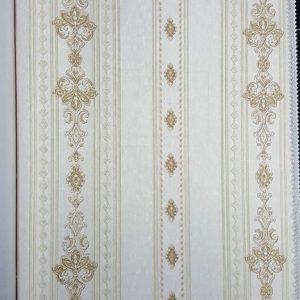 کاغذ دیواری کلاسیک سه بعدی طرح برجسته