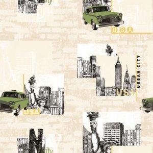 کاغذ دیواری ماشین - کاغذ دیواری پسرانه