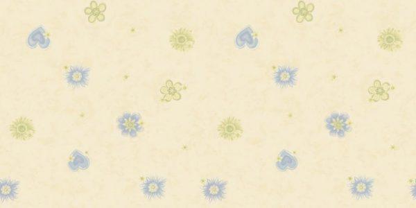 کاغذ دیواری دخترانه گل دار