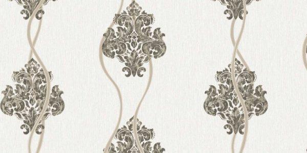 کاغذ دیواری کلاسیک مخملی