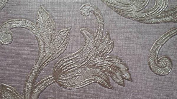کاغذ دیواری گل دار شاینی -قیمت مناسب