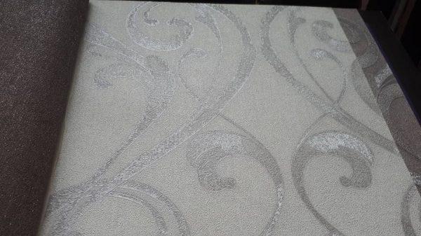 کاغذ دیواری سفید براق