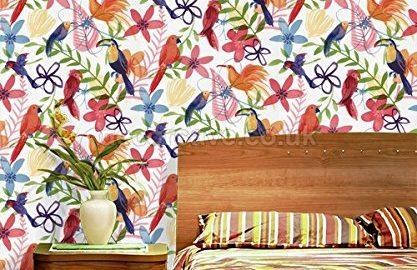 کاغذ دیواری رنگی