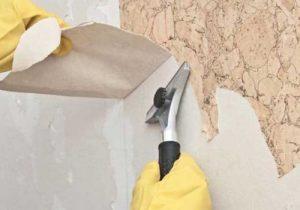 جدا کردن کاغذ دیواری از دیوار