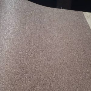 کاغذ دیواری قهوه ای رنگ اکلیل طلایی
