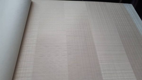 کاغذ دیواری کرم ساده شاین براق