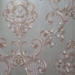 کاغذ دیواری طلایی داماسک
