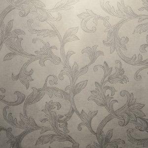 کاغذ دیواری سفید گل دار