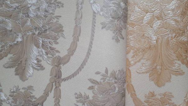 کاغذ دیواری سه بعدی داماسک ایتالیایی