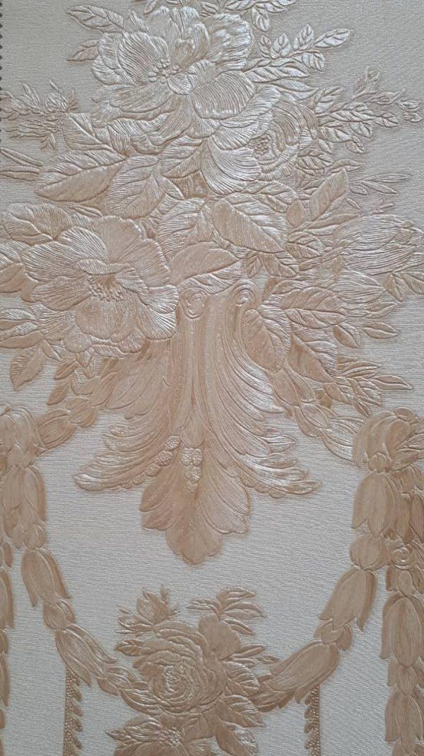 کاغذ دیواری طلایی سه بعدی