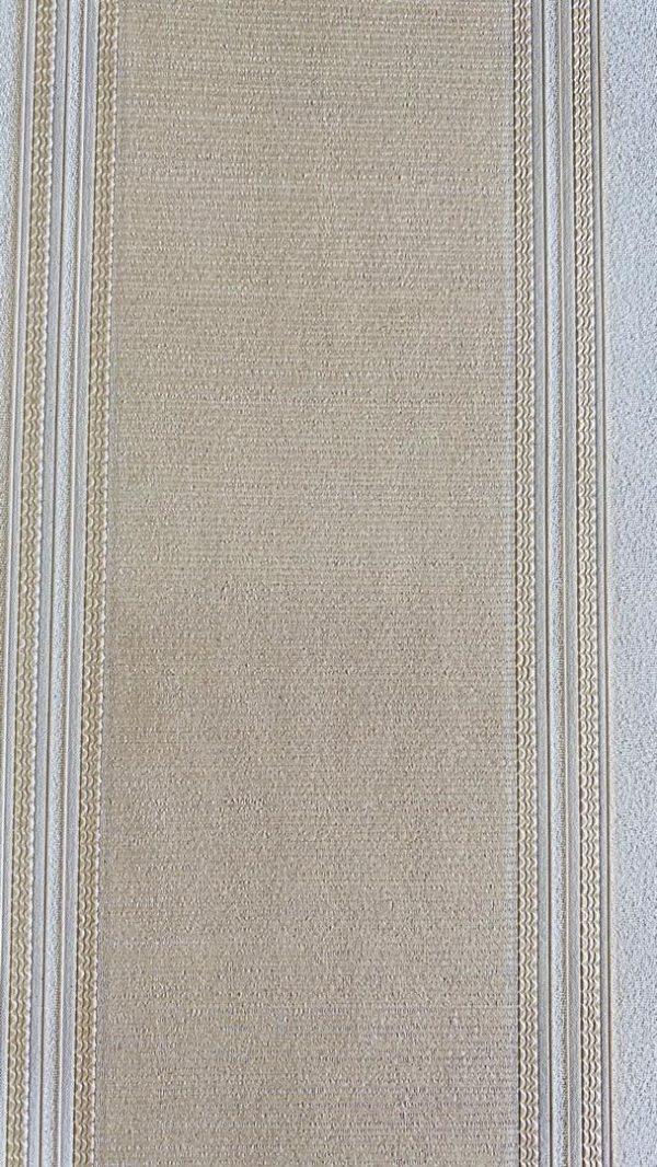 کاغذ دیواری برجسته سه بعدی طلایی بژ