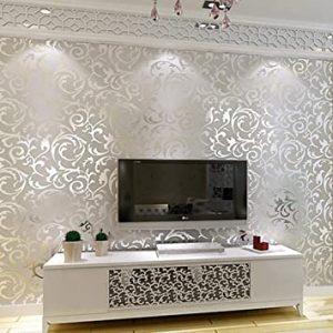 کاغذ دیواری سه بعدی آینه ای