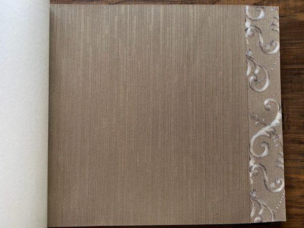 کاغذ دیواری زیتونی ساده