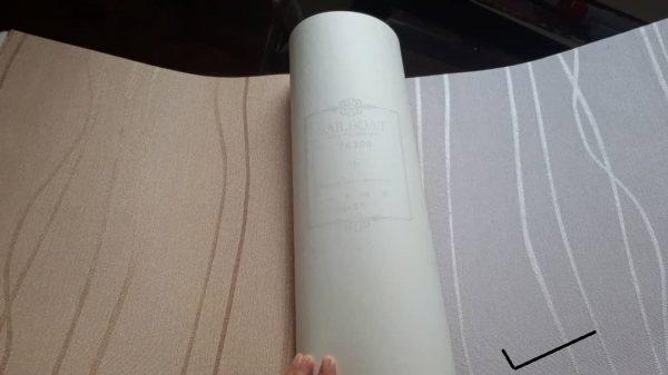 قیمت کاغذ دیواری ساده طوسی