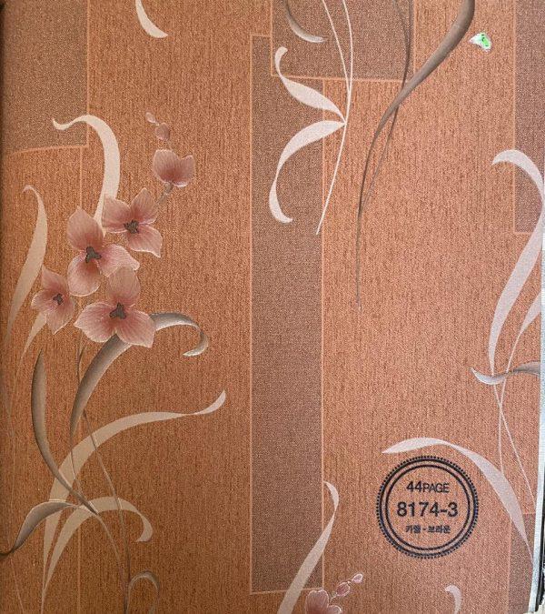 کاغذ دیواری گل دار قیمت