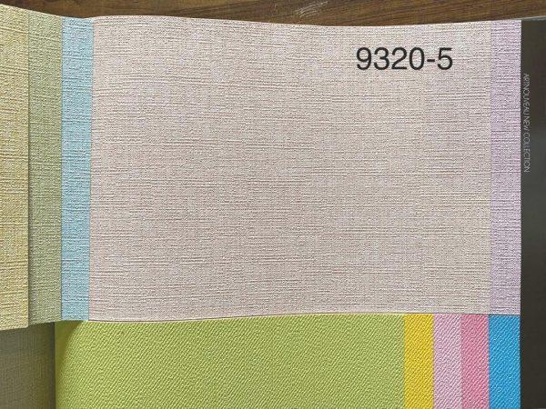 کاغذ دیواری ساده صورتی شاینی
