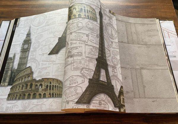 9619-2 کاغذ دیواری اسپرت طرح شهر