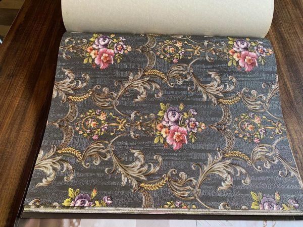 9621-4 کاغذ دیواری گل دار