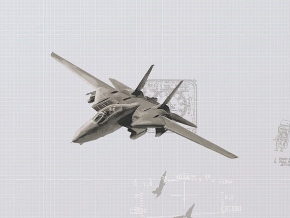 کاغذ دیواری هواپیما 67023-
