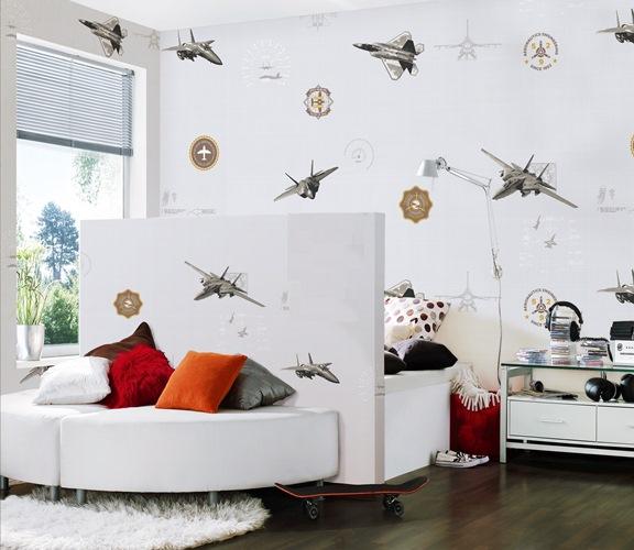کاغذ دیواری اتاق کودک پسرانه